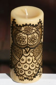 Henna candle by ginaddougherty