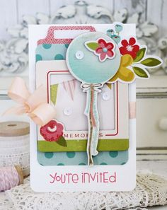 You're Invited card by Melissa Phillips for SCTMagazine's 10th Birthday Celebration