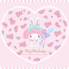 My Melody Wallpaper, Sanrio Wallpaper, Kawaii Wallpaper, Iphone Wallpaper, Kawaii Room, Kawaii Art, Kawaii Anime, Unicorn Wall, Cute Unicorn