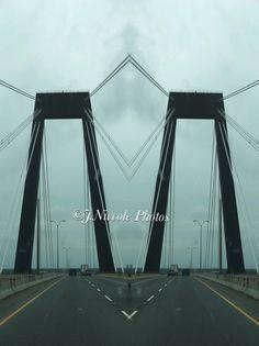 Hale Boggs Bridge on I-310 near New Orleans!  #SplitPic
