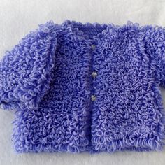 Baby coat, baby loopy jacket, hat, baby jacket, handknit baby coat, all colors, baby gift, original design, Made to Order, baby gift,