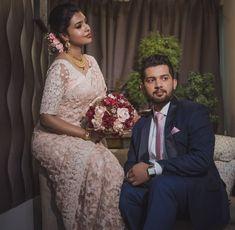 Low Key Wedding, Wedding Looks, Bridal Looks, Wedding Pics, Christian Wedding Sarees, Christian Bride, Engagement Hairstyles, Engagement Dresses, Bridal Sarees