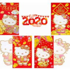 Be prepared to impress upon your friends and relatives with this uniquely designed Chinese New Year cards for the upcoming Roaster Year festival! Chinese Red Envelope, Chinese New Year Gifts, Red Packet, Money Envelopes, Hello Kitty, Birthday, Party, Beer, Design