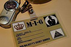 secret agent badge