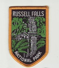 Nice picture of the falls - 'Cloth Patch, Russell Falls national Park, Tasmania, Australia. This was one I listed for sale - sold for $2.50. Australian | eBay