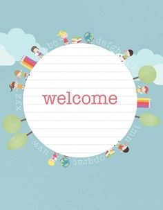 free-printable-back-to-school-party-welcome-sign  catchmyparty.com