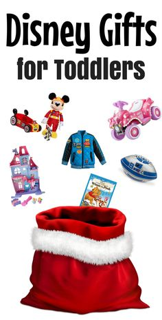 Disney gifts for toddlers including stocking stuffers, toys, bath and meal time fun and favorite books and movies!