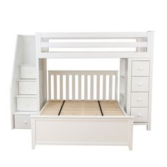 Found it at Wayfair - All-in-One Standard Full Bed with Staircase