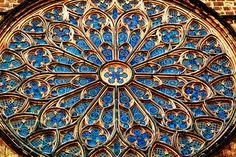 Rose Window, Santa Maria del Pi, Barcelona by Carlos Lorenzo, via Flickr