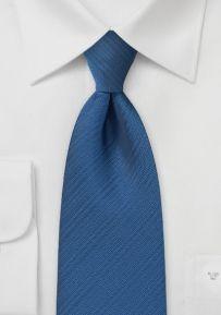 Pure Microfiber Necktie in Buoyant Indigo