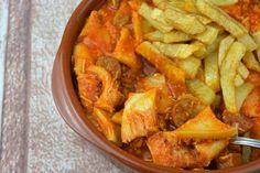 Receta tradicional de #callos a la riojana con #fritada de tomate IBSA #Bierzo #recetascaseras #cocinaespañola #cocinatradicional #platosdecuchara #recetasriojanas #conservamoslanaturaleza #salsadetomate #tomatefrito