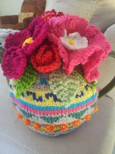 Tea Cosy Picture only - no pattern