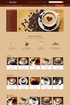 Ice Mocha, get your next eCommerce project to new levels. Mesmerize your buyers using the attractive design and let the sales go on. Want excellence? You can start by browsing this Demo: http://demo.icetheme.com/opencart/?theme=ice_mocha