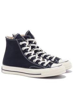 Converse CHUCK TAYLOR ALL STAR 70 HI Sneakers Schwarz #modasto #giyim #moda https://modasto.com/converse/kadin/br1947ct2