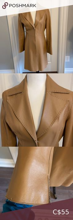 Check out this listing I just found on Poshmark: COOL VINTAGE GUESS Long Leather Coat. Size small.. #shopmycloset #poshmark #shopping #style #pinitforlater #Guess #Jackets & Blazers Long Leather Coat, Plus Fashion, Fashion Tips, Fashion Trends, Blazers, Cool Stuff, Check, Jackets, Outfits