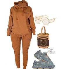 Source by trulynyafashions fashion outfits classy Cute Swag Outfits, Chill Outfits, Dope Outfits, Stylish Outfits, Fashion Outfits, Pastel Outfit, Black Girl Fashion, Look Fashion, Fall Winter Outfits