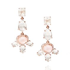 It was love at first blush with these fresh floral-inspired favorites in rose quartz hues – Pantone's 2016 color-of-the-year. From a casual weekday, to your wedding day, opt for effortless elegance with this stunning statement set.