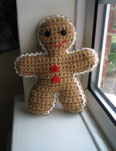 Crochet Gingerbreadman