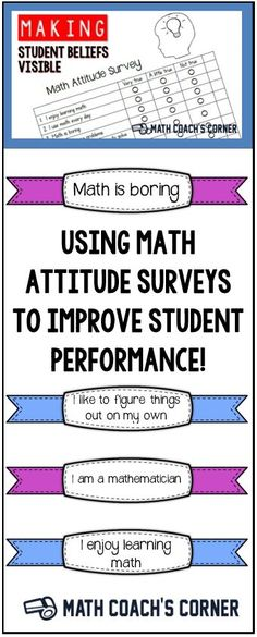 Why use a math attitude survey? When your students enter your classroom this fall, it's likely that a very large elephant will follow each of them into the room. That's a lot of elephants in one room! The source of all this overcrowding? Negative beliefs and attitudes about math. Read how to use a math attitude survey to change student beliefs and improve student performance!