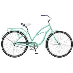 """26"""" Delmar Women's Cruiser Bike Probably a better choice just because of the color. Colleen may balk at a pink and white bike!  Make sure you lock it up, someone stole it!"""
