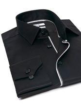 Chemise homme Tropez noir