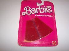 Barbie RED SKIRT Fashion Extras Mattel 1984
