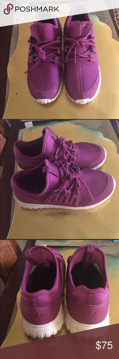 Adidas Tubular Radical Sneakers Size 3 but Same as A 5 in woman's. Normally I wear a 6 but these fit me fine. Adidas Shoes Sneakers