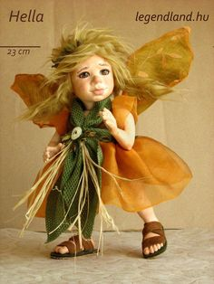 Hella fairy art doll - poseable art doll by LegendLand