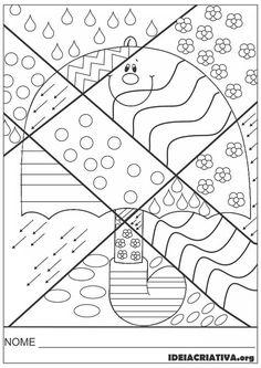 Pop Art Atividade Inspirada em Romero Britto Artes Educação Infantil   Ideia Criativa - Gi Barbosa Educação Infantil