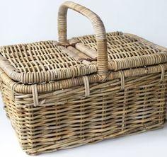 Ratanový piknikový kôš Kos, Basket, Paper Envelopes, Hamper