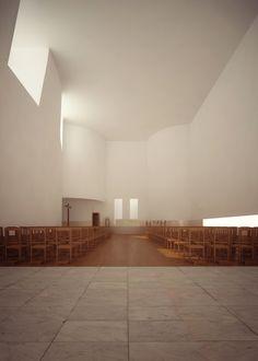 ALVARO SIZA Igreja de Santa Maria de Marco de Canaveses by liraat visuals , via Behance