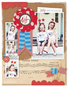 Make It Today: 4th of July Layout