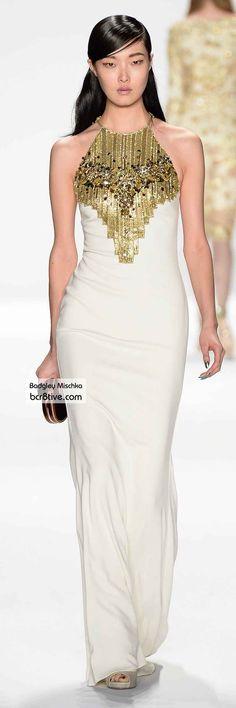 Badgley Mischka FW 2014 #NYFW