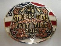 Sonoita Line Belt Buckles | Usher Brand  #trophybuckle #silversmith #rodeo #barrelracing #bullriding #teamroping #western