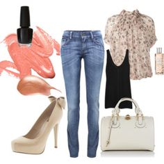 Love dressing up a great pair of jeans.