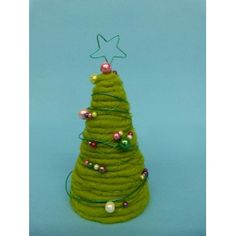 Weihnachtsdekoration selber basteln   Eine tolle Bastelidee zum Nachmachen