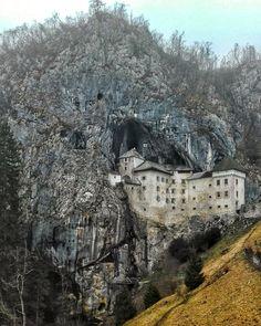 Creepy and charming Predjama Castle, Slovenia