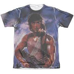 """Checkout our #LicensedGear products FREE SHIPPING + 10% OFF Coupon Code """"Official"""" Rambo:first Blood/drew First -adult Poly/cotton S/s T- Shirt - Rambo:first Blood/drew First -adult Poly/cotton S/s T- Shirt - Price: $24.99. Buy now at https://officiallylicensedgear.com/rambo-first-blood-drew-first-adult-poly-cotton-s-shirt-licensed"""