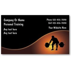 Certified personal trainer business cards exercise pinterest certified personal trainer business cards exercise pinterest certified personal trainer personal trainer and business cards colourmoves