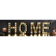 HOME Decorative LED Marquee Sign - Overstock™ Shopping - Great Deals on Accent Pieces