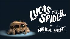 Lucas the Spider - Musical Spider. Super-cute animation featuring a spider playing a kalimba Lucas The Spider, Animated Spider, Big Spiders, Insomnia Cures, Kalimba, Mejor Gif, Could Play, Alternative News, Elementary Music