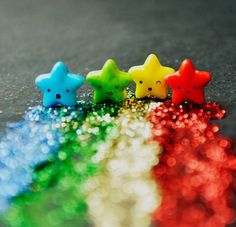 Colourful Falling Stars~