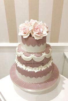 Le Delizie di Amerilde. Wedding cake. www.ledeliziediamerilde.it