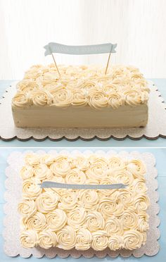 beautiful rose 'thank you' cake. I'd do anything for someone who said thank you like this!