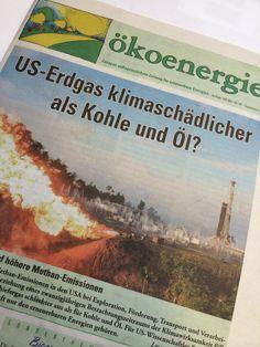 Nicht das US ist das Problem, sondern das Erdgas selbst! Der Schlüssel in der Umweltpolitik ist die CO2 Neutralität!