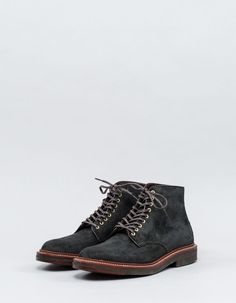 Alden - Plain Toe Crepe Sole Boot