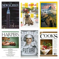 our favorite magazines for current events (plus food & nature) // Green Revival