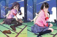 Model cosplays Monogatari series's Tsubasa Hanekawa in Tsubasa magazine - http://sgcafe.com/2013/09/model-cosplays-monogatari-seriess-tsubasa-hanekawa-tsubasa-magazine/