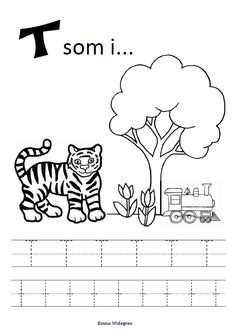 Namnlös Coloring For Kids, Coloring Pages, Childcare Activities, Alphabet Crafts, Diy For Kids, Kids Learning, Homeschool, Classroom, Letters