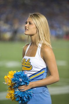 A look back at our 45 favorite cheerleaders from the 2016 college football season. They can cheer for us anytime!...